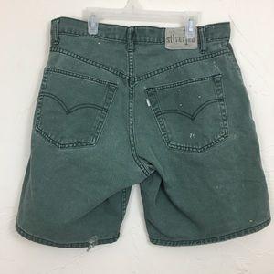Levi's Shorts - Destroyed Levi's SilverTab Loose Shorts 32